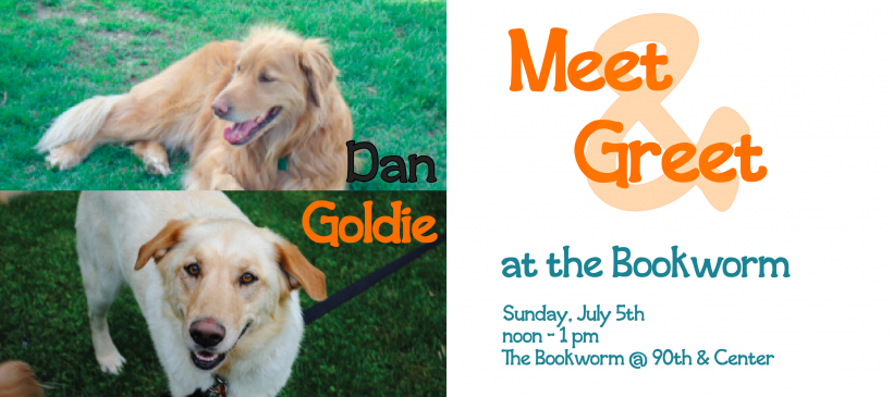 Bookworm Meet and Greet – July 2015 – Slider – Dan and Goldie