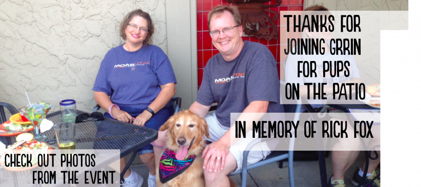 Thanks for Attending Pups on the Patio – Rick Fox – Slider