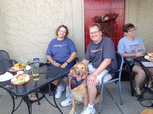 Pups on the Patio - 08 2015 - Family Photo